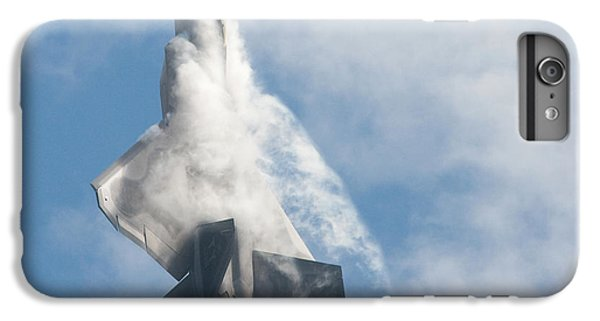 IPhone 6 Plus Case featuring the photograph F-22 Raptor Creates Its Own Cloud Camouflage by Nathan Rupert