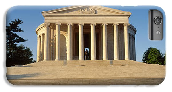 Facade Of A Memorial, Jefferson IPhone 6 Plus Case by Panoramic Images