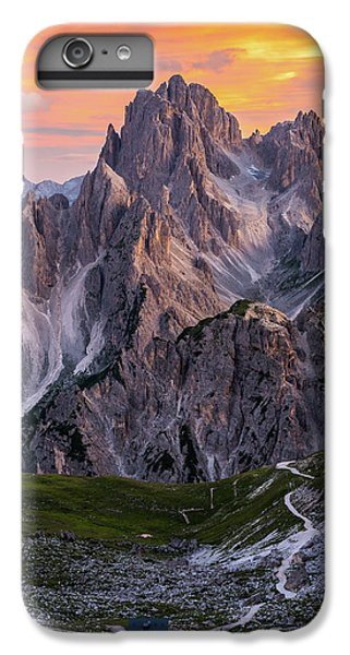 Mountain Sunset iPhone 6 Plus Case - Face To Face by Andreas Agazzi