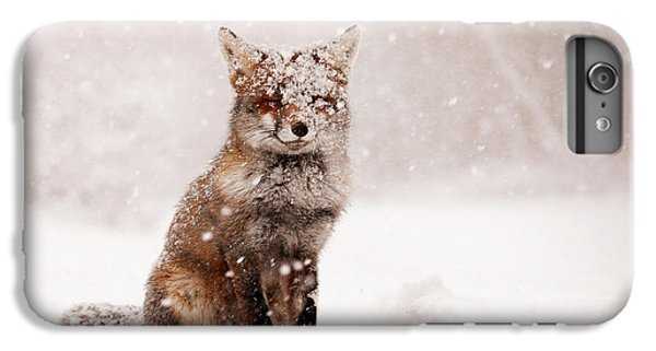 Mammals iPhone 6 Plus Case - Fairytale Fox _ Red Fox In A Snow Storm by Roeselien Raimond