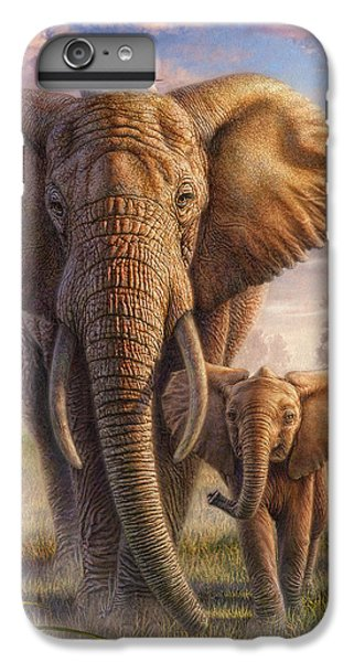 Family Stroll IPhone 6 Plus Case by Phil Jaeger
