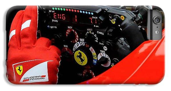 Ferrari Formula 1 Cockpit IPhone 6 Plus Case