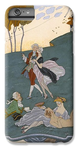 Fetes Galantes IPhone 6 Plus Case by Georges Barbier