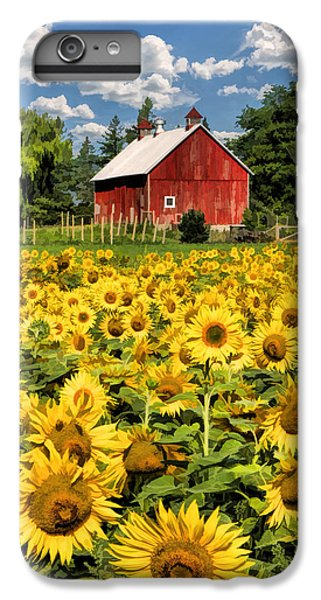 Field Of Sunflowers IPhone 6 Plus Case