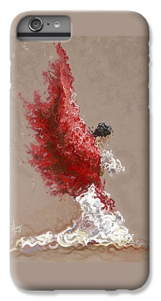 Figurative iPhone 6 Plus Case - Fire by Karina Llergo