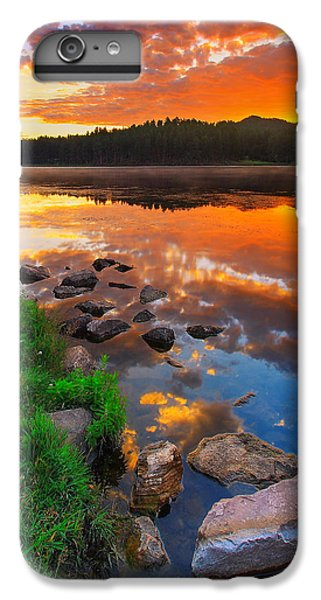 Fire On Water IPhone 6 Plus Case by Kadek Susanto