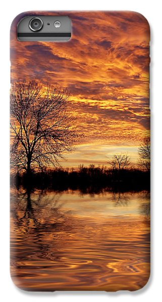 Fire Painters In The Sky IPhone 6 Plus Case by Bill Pevlor