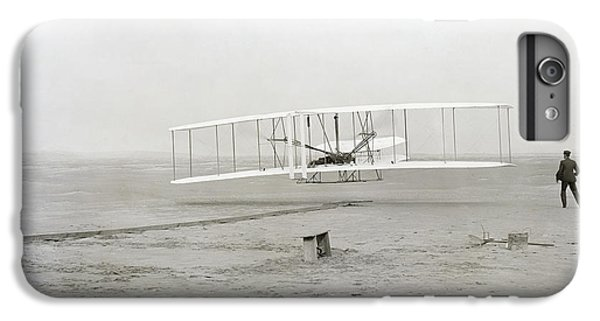 First Flight Captured On Glass Negative - 1903 IPhone 6 Plus Case by Daniel Hagerman