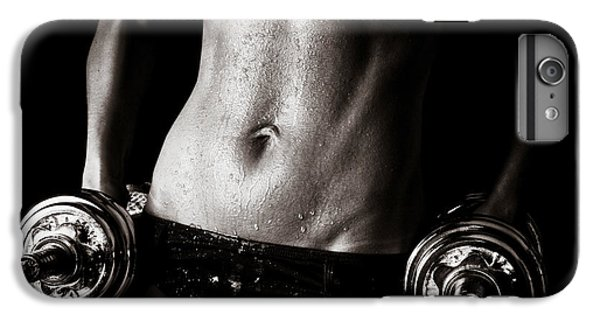Workout iPhone 6 Plus Case - Fitness Motivation by Jt PhotoDesign