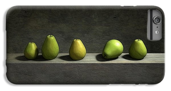 Five Pears IPhone 6 Plus Case by Cynthia Decker