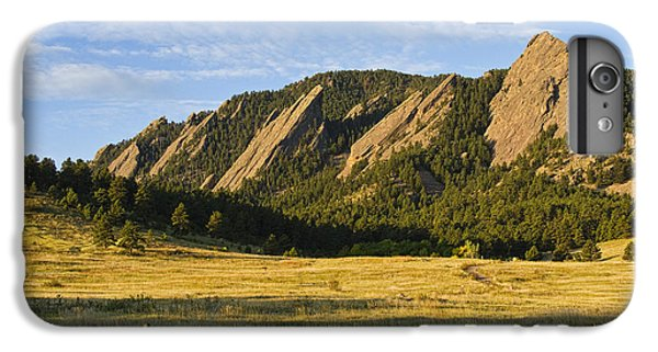 Flatirons From Chautauqua Park IPhone 6 Plus Case