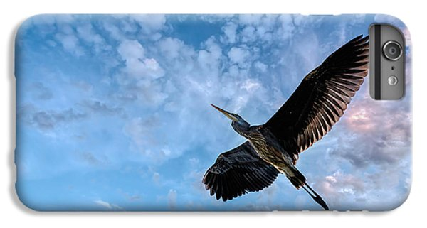 Heron iPhone 6 Plus Case - Flight Of The Heron by Bob Orsillo