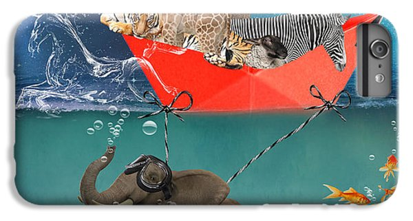 Floating Zoo IPhone 6 Plus Case by Juli Scalzi