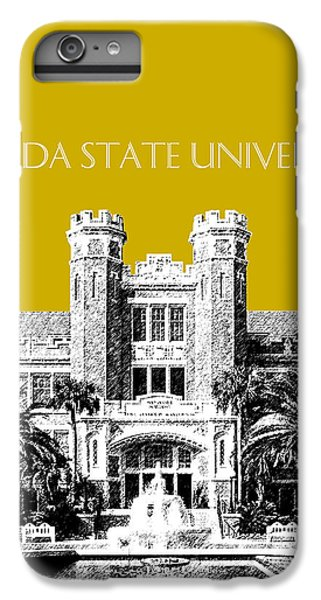 Florida State University - Gold IPhone 6 Plus Case by DB Artist