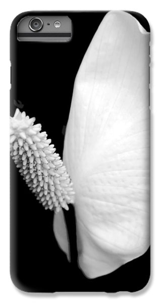 Lily iPhone 6 Plus Case - Flower Power Peace Lily by Tom Mc Nemar