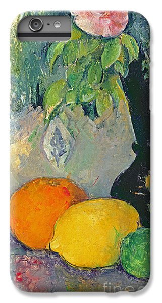 Flowers And Fruits IPhone 6 Plus Case by Paul Cezanne