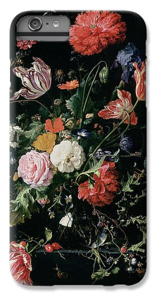 Flowers In A Glass Vase, Circa 1660 IPhone 6 Plus Case