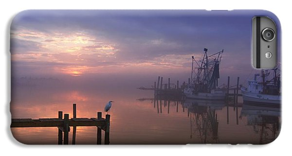 Foggy Sunset Over Swansboro IPhone 6 Plus Case
