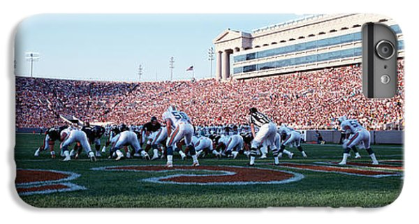 Football Game, Soldier Field, Chicago IPhone 6 Plus Case by Panoramic Images