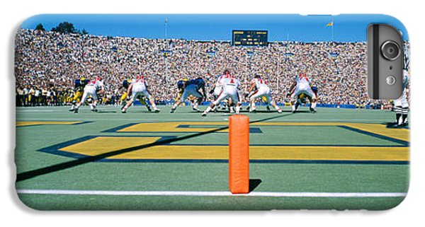 Football Game, University Of Michigan IPhone 6 Plus Case by Panoramic Images