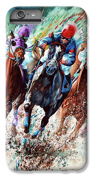 Horse iPhone 6 Plus Case - For The Roses by Hanne Lore Koehler