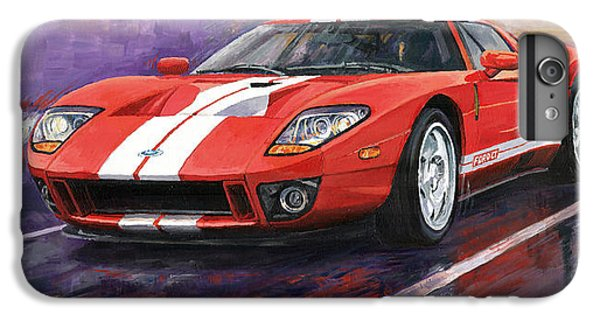 Car iPhone 6 Plus Case - Ford Gt 2005 by Yuriy Shevchuk