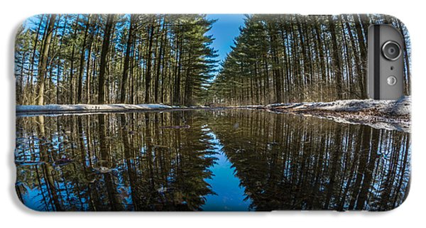Forest Reflections IPhone 6 Plus Case by Randy Scherkenbach