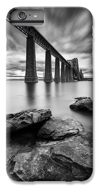White iPhone 6 Plus Case - Forth Bridge by Dave Bowman