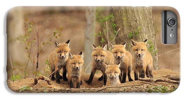 Phoenix iPhone 6 Plus Case - Fox Family Portrait by Everet Regal