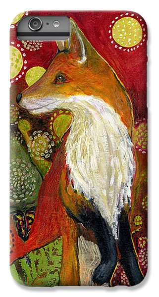 Wildlife iPhone 6 Plus Case - Fox Listens by Jennifer Lommers