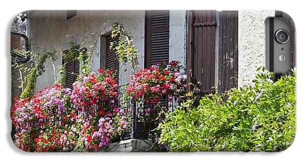 Summer iPhone 6 Plus Case - #france #summer #flowers #balcony by Georgia Fowler