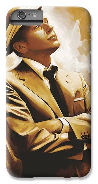 Celebrities iPhone 6 Plus Case - Frank Sinatra Artwork 1 by Sheraz A