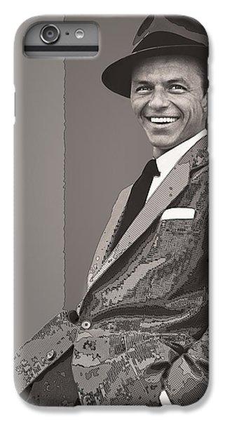 Frank Sinatra IPhone 6 Plus Case by Daniel Hagerman