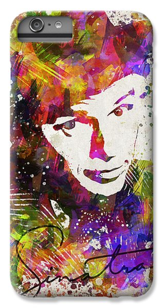 Frank Sinatra In Color IPhone 6 Plus Case by Aged Pixel