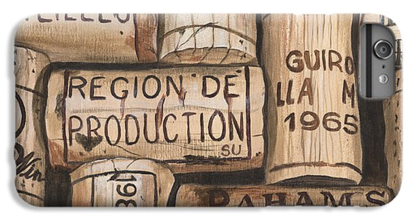 Wine iPhone 6 Plus Case - French Corks by Debbie DeWitt