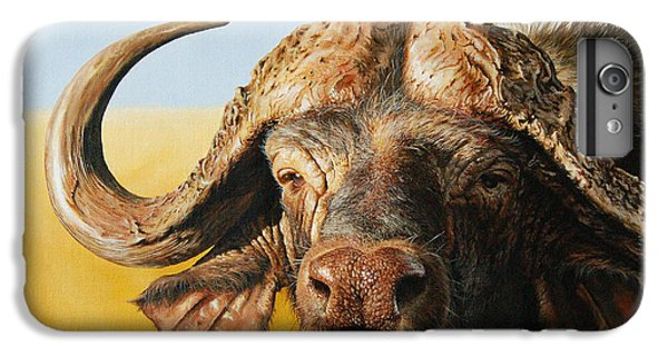 African Buffalo IPhone 6 Plus Case by Mario Pichler