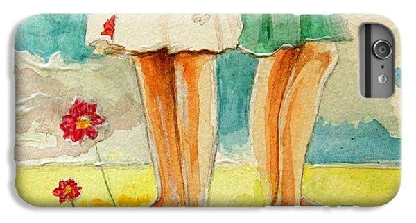 Garden iPhone 6 Plus Case - Friendship by Elizabeth Robinette Tyndall