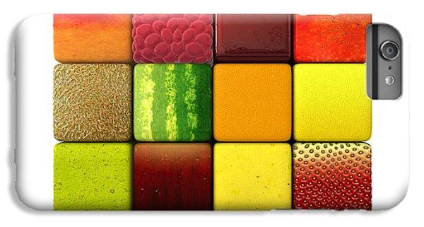 Fruit Cubes IPhone 6 Plus Case by Allan Swart