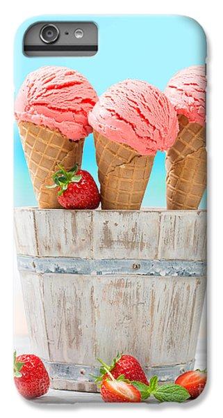 Fruit Ice Cream IPhone 6 Plus Case by Amanda Elwell