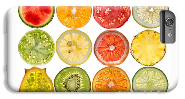 Fruit Market IPhone 6 Plus Case by Steve Gadomski
