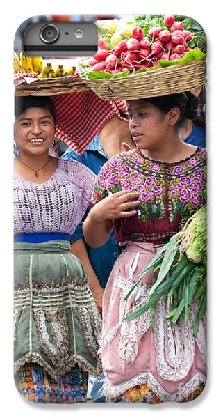 Fruit Sellers In Antigua Guatemala IPhone 6 Plus Case by David Smith