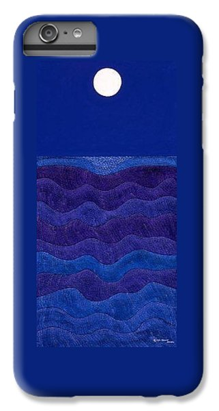 iPhone 6 Plus Case - Full Moonscape II by Synthia SAINT JAMES