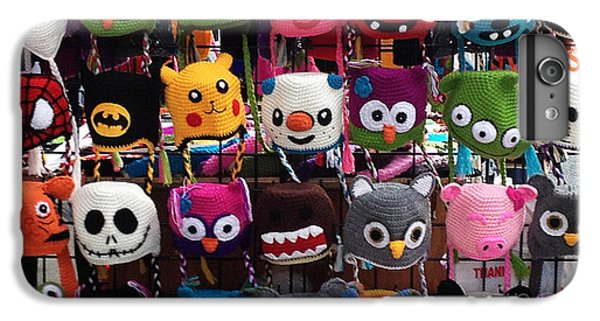 Knit Hat iPhone 6 Plus Case - Funny Hats On The Street by Shari Warren