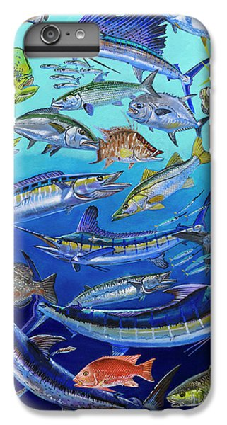 Gamefish Collage In0031 IPhone 6 Plus Case by Carey Chen