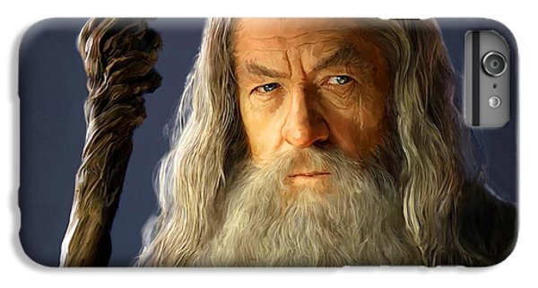 Wizard iPhone 6 Plus Case - Gandalf by Paul Tagliamonte
