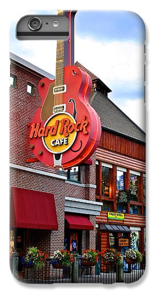 Rock Music Jimmy Page iPhone 6 Plus Case - Gatlinburg Hard Rock Cafe by Frozen in Time Fine Art Photography