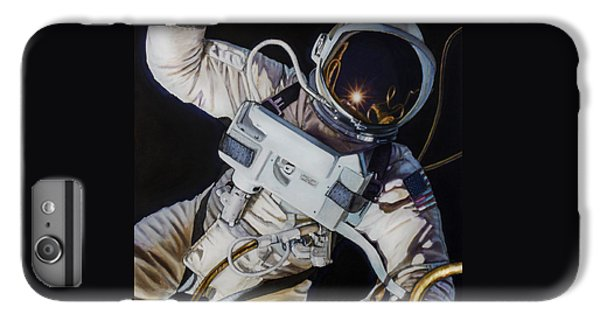 Astronauts iPhone 6 Plus Case - Gemini Iv- Ed White by Simon Kregar