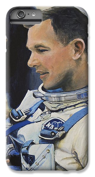 Gemini Viii Dave Scott IPhone 6 Plus Case by Simon Kregar