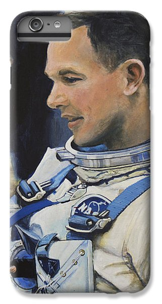 Astronauts iPhone 6 Plus Case - Gemini Viii Dave Scott by Simon Kregar