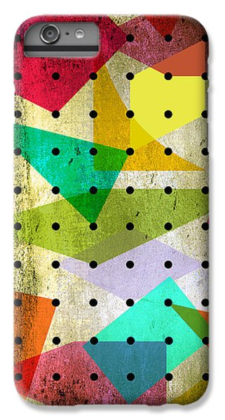 Geometric In Colors  IPhone 6 Plus Case by Mark Ashkenazi